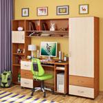 фото  Детская Мебель Детская комната Легенда 4