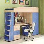 фото  Детская Мебель Кровать-чердак Легенда-1 (Сказка-1)