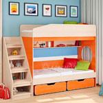 фото  Детская Мебель Двухъярусная кровать Легенда-10 (Сказка-10)