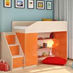 фото  Детская Мебель Кровать-чердак Легенда-11 (Сказка-11)