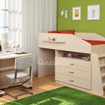 фото  Детская Мебель Кровать-чердак Легенда-12