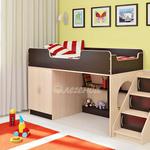 фото  Детская Мебель Кровать-чердак Легенда-2 (Сказка-2)