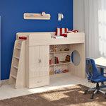 фото  Детская Мебель Кровать-чердак Легенда-3 (Сказка-3)