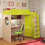 фото  Детская Мебель Кровать-чердак Легенда-4 (Сказка-4)