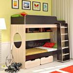 фото  Детская Мебель Двухъярусная кровать Легенда-7 (Сказка-7)