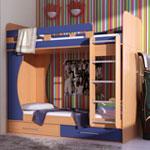 фото  Гармония Двухъярусная кровать Дуэт-1