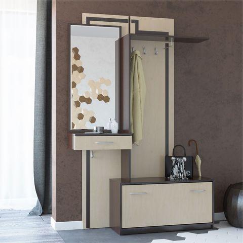 На фото: Мебель Примеры прихожей г. Санкт-Петербург ООО glamour.