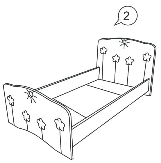Чертежи на детскую кровать своими руками