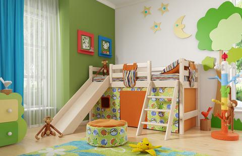 кровать соня 14 с горкой мебельград