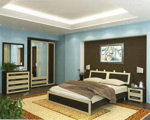 в какой цвет покрасить спальню фото