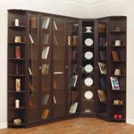 Купить библиотеку - книжные шкафы недорого в москве.