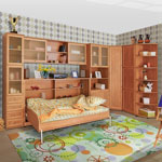 фото  Сканд-Мебель Детская мебель Олимп