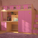 фото  Сканд-Мебель Детская мебель ПикНик