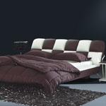 фото  Татами Кожаная кровать 1028