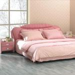 фото  Татами Кожаная кровать 1037