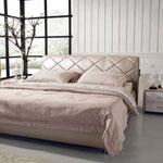 фото  Татами Кожаная кровать 1100