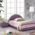 фото  Татами Кожаная кровать AE001