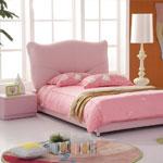 фото  Татами Кожаная кровать AE005