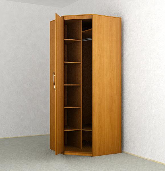 Как собрать угловой шкаф: выбор материалов, дизайна и констр.
