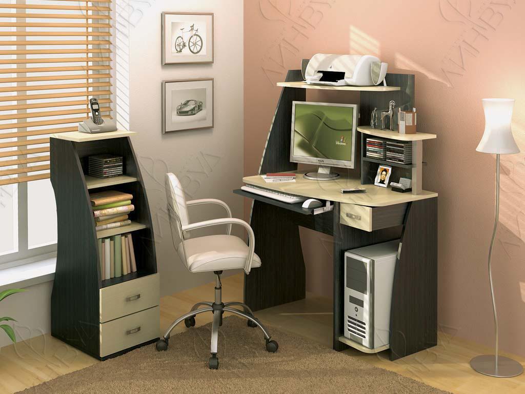 Стол компьютерный вега-2 (линвуд-5014) - купить в москве.