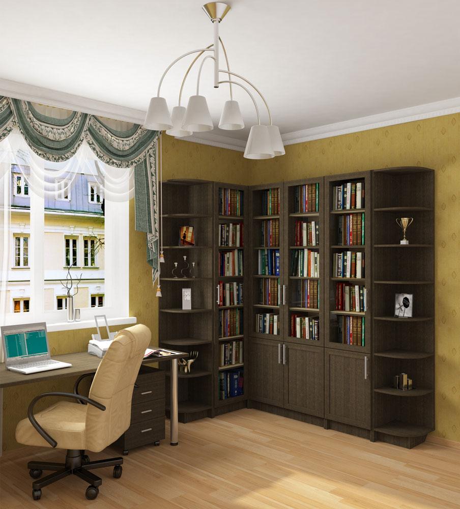 Библиотека ларго (нижегородмебель).