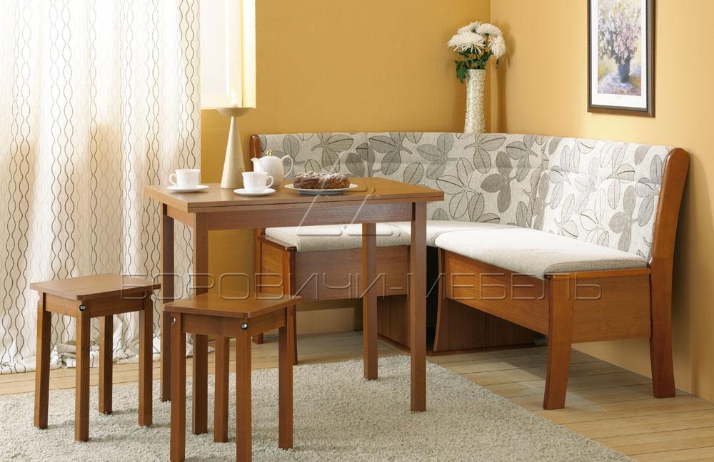 Кухонный уголок этюд (боровичи-мебель) купить набор 4123.